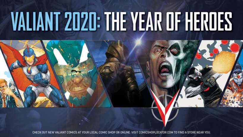 Valiant 2020: The Year of Heroes - Image courtesy of Valiant Entertainment