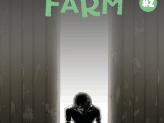 Horror Comic Book Frank at Home on the Farm #2