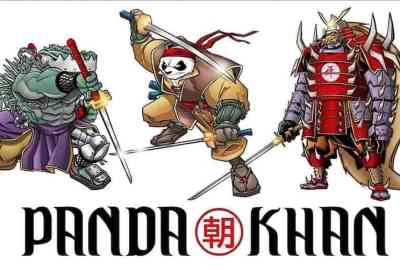 Remember TMNT crossover character Panda Khan? You might be seeing him SOON! 2