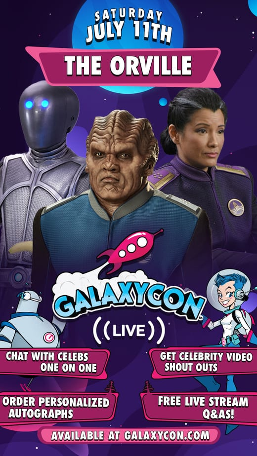 GalaxyCon Live featuring Tim Curry, The Orville Cast + More 1