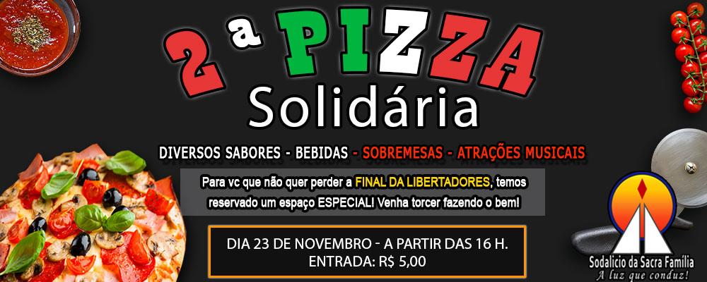 2º Festival de Pizza Solidária
