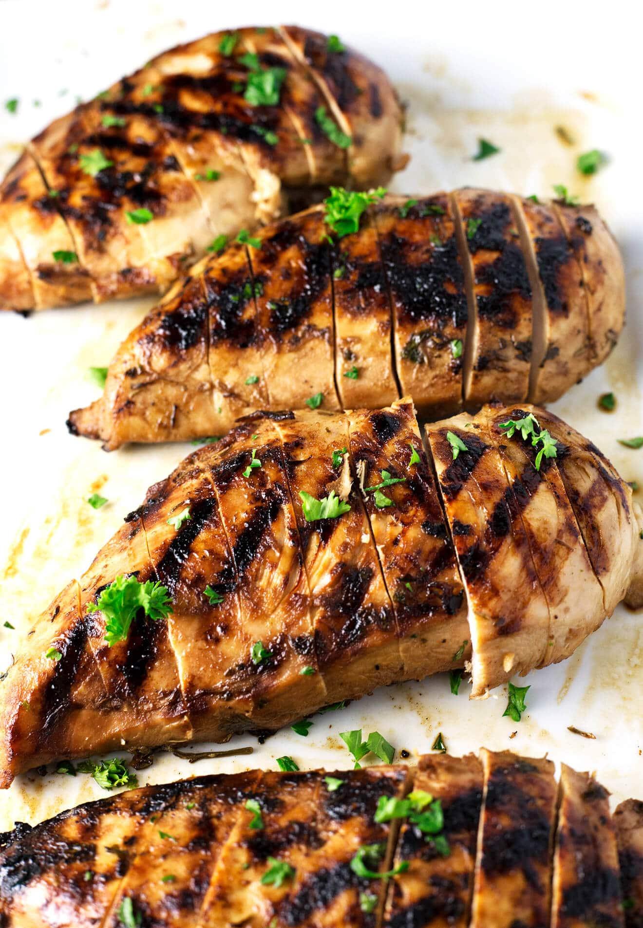 Best Amp Juiciest Grilled Chicken Breast So Damn Delish