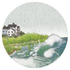 Storm Surge (pencil, digital)