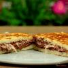 Chocolate and Marshmallow Sandwich