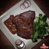 Pork Chop Steak With Brandy Sauce