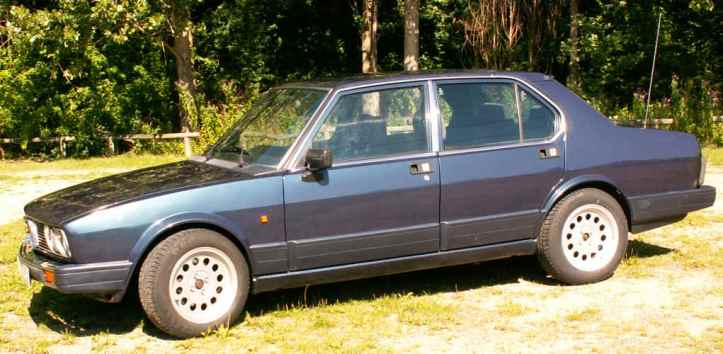 Alfetta side view