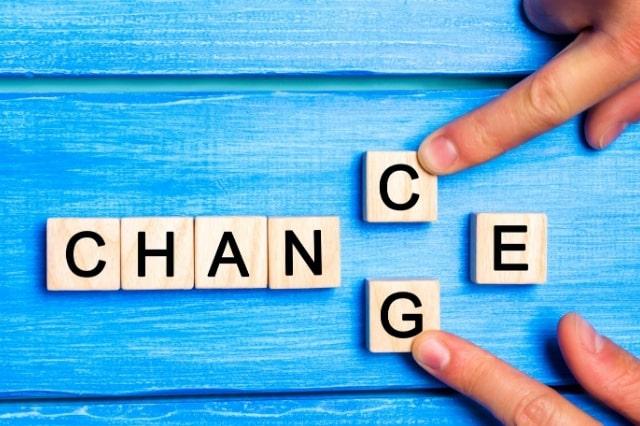 Sii il cambiamento che vuoi vedere nel mondo