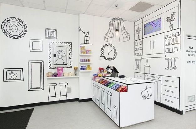 The Candy Room, Red Design