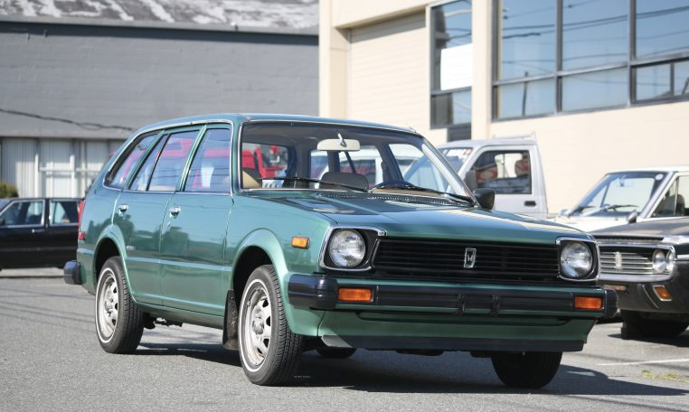 1982 Honda Civic Wagon Hondamatic 33k Miles