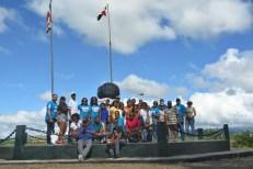 Visita al monumento a la Batalla de Palo Hincado