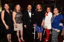 Cesarina Morel, María De los Angeles, Augusto Valdivia, Luisa de Aquino, Nieves Colombani, Mirna Pimentel