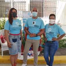 Yenny Polanco, Salvador Batista, Milka Hernández