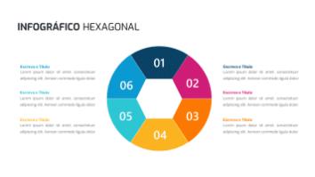 Infográfico Hexagonal 6 Etapa