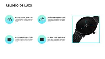 Slide Editavel Relogio de Luxo