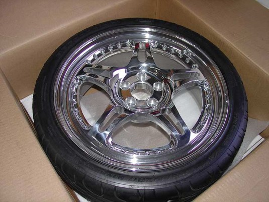 Bespoke HRE 540R forged 3 piece wheels