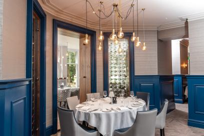 The new Marco Pierre dining room in the hotel