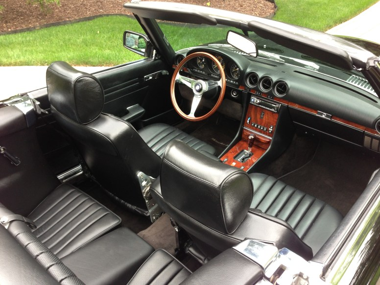 New leather, Nardi steering wheel and wood facias.
