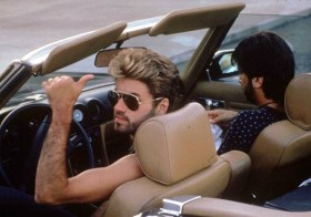 George Michael in his 560sl