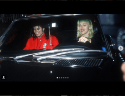 Madonna takes MJ to the Emmy Awards in her 1987 560sl