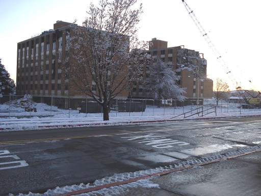 The leveling of Q-Hall. Winter 2009