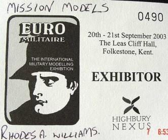 Euro Pass 2003