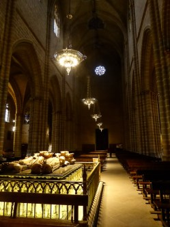 We had the enormous cathedral complex to ourselves for our entire visit, a rather magical experience