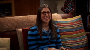 Amy Farrah Fowler dans The Big Bang Theory