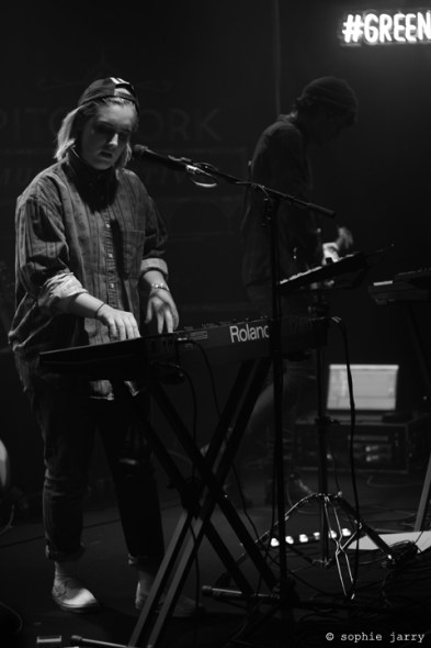 Shura @ #P4K Paris Opening Party - Photo by Sophie Jarry