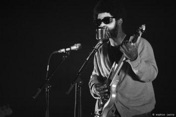 CURTIS HARDING - Pitchfork Festival Paris. 31 October 2015