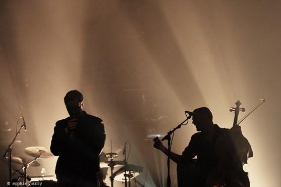 RHYE Robin Hannibal, Michael Milosh Pitchfork Festival Paris. 30 October 2015