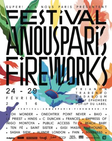 Festival A Nous Paris -Sodwee.com