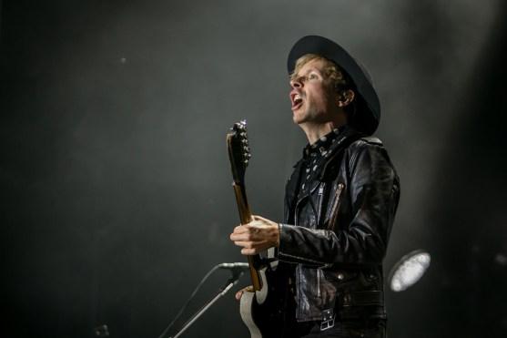 Beck live - Photo by Hjordis Jonsdottir