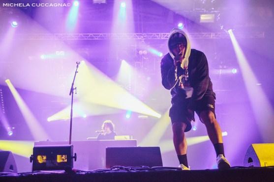Joey Purp.Pitchfork Music Festival.29 octobre 2016.La Grande Halle de la Villette.Paris.Michela Cuccagna©