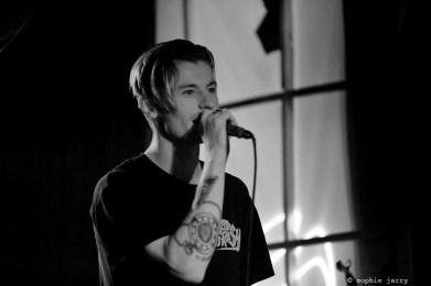 Benny Mails live at Badaboum for #P4Kparis #avantgarde