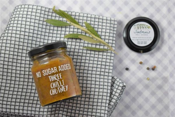 No Sugar Added Three Chilli Chutney
