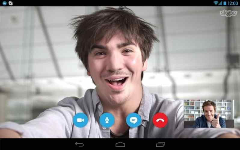 Skype Video Call not working