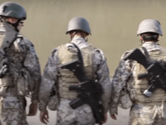 Latvian Special Forces Training (photo from NATO video July 29, 2016)