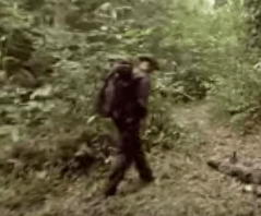 French Foreign Legion deep in the jungle video
