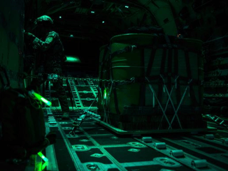 MC 130J Commando II Loadmaster (USAF photo by 1LT Chris Sullivan)