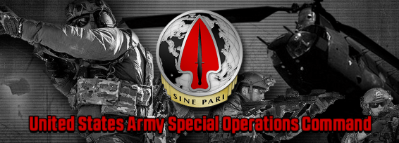 USASOC- United States Army Special Operations Command