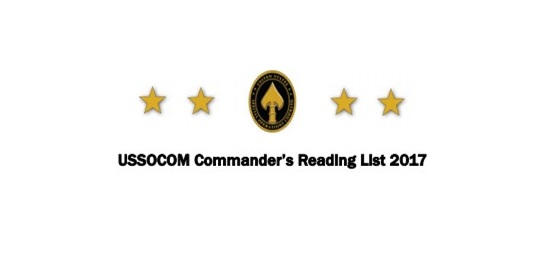 USSOCOM-Commanders-Reading-List-2017