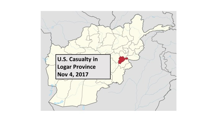 Stephen Cribben - U.S. casualty Logar Nov 4, 2017