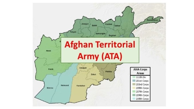 Afghan Territorial Army (ATA)