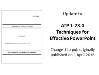 ATP-1-23.4 Techniques of Effective PowerPoint