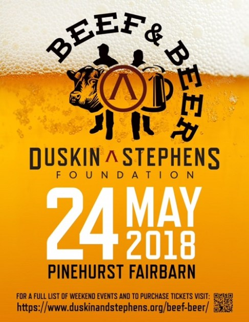 Duskin and Stephens Foundation Beef and Beer Event Pinehurst NC May 24 2018