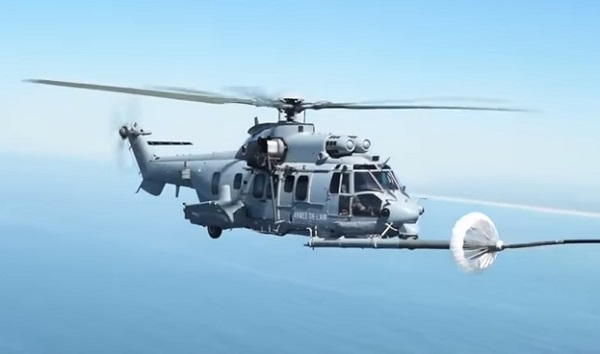 Video Dark Dune 18. AFSOC aircraft conduct aerial refueling of French helicopters during Exercise Dark Dune May 2018. DoD