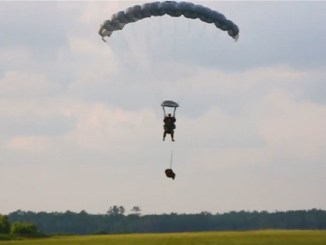 2nd Recon Parachute Jump - 2nd Reconnaissance Battalion performs free fall jump at Camp Lejeune, NC.