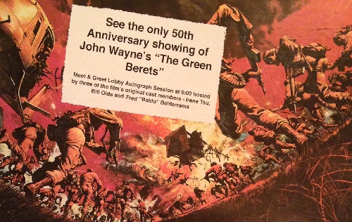 The Green Berets - 50th Anniversary Showing