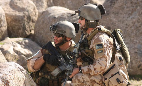 601st Special Forces Group soldiers