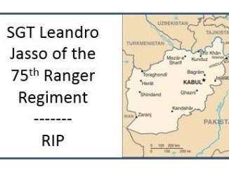 SGT Leandro Jasso Ranger Regiment